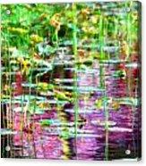 Pond In Purple Acrylic Print