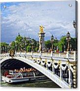 Pont Alexander IIi Acrylic Print by Elena Elisseeva