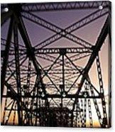 Pont Champlain - Montreal Acrylic Print