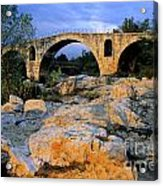 Pont Julien. Luberon. Provence. France. Europe Acrylic Print