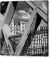 Pont Lafayette Paris Acrylic Print