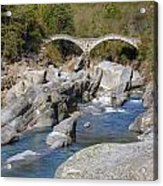Ponte Dei Salti - Lavertezzo Acrylic Print
