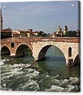 Ponte Pietra Acrylic Print