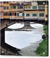 Ponte Vecchio 2 Acrylic Print