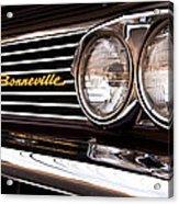 Pontiac Bonneville Acrylic Print