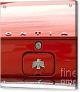 Pontiac Firebird Emblem Acrylic Print