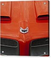 Pontiac Firebird Grille Acrylic Print