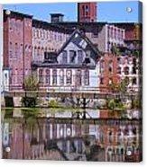 Pontiac Mills Dam Acrylic Print