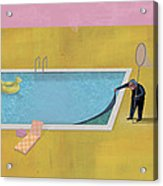 Pool Animal 01 Acrylic Print