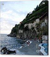 Pool In The Amalfi Santa Caterina Hotel Acrylic Print