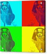 Pop Pharaoh Acrylic Print