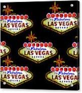 Pop Vegas Acrylic Print