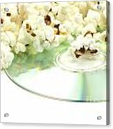 Popcorn And Movie  Acrylic Print