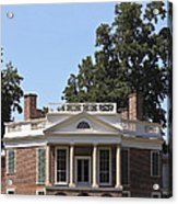 Poplar Forest From The Lawn Acrylic Print