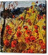Poppies In Provence 456321 Acrylic Print