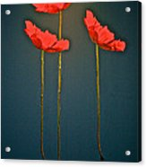 Poppy Power Acrylic Print
