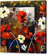 Poppy Spectrum Acrylic Print
