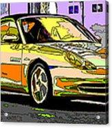 Porsche Carrera Study 4 Acrylic Print by Samuel Sheats