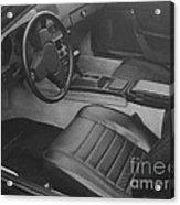 Porsche Interior Acrylic Print