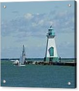 Port Dalhousie Lighthouse Acrylic Print