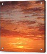 Port Henderson Sunset 2 Acrylic Print