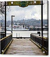 Port Of Newport Acrylic Print