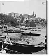 Port Of Salacak Uskudar - Turkey Acrylic Print