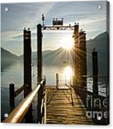 Port On In Sunset Acrylic Print