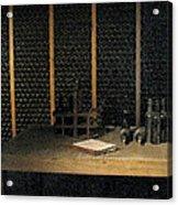 Port Wine Cellar Acrylic Print