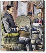 Portable Typewriter, 1889 Acrylic Print