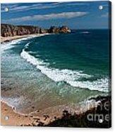 Porthcurnow Beach Acrylic Print