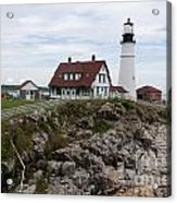 Portland Head Light Cape Elizabeth Fort Williams Maine Acrylic Print