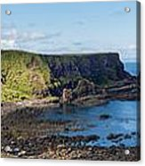 Portnaboe Bay At Giants Causeway Acrylic Print