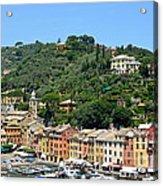 Portofino Hillside Acrylic Print