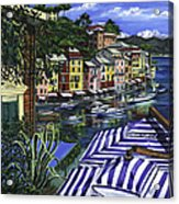 Portofino Acrylic Print by Lisa Reinhardt