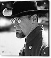 Portrait Of A Man Anniversary Of The American Civil War Mosby House Lawn Warrenton Virginia Acrylic Print