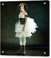 Portrait Of A Vintage Dancer Series Acrylic Print