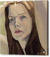 Portrait Of Ashley Acrylic Print
