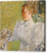 Portrait Of Edith Blaney Painting By Childe Hassam