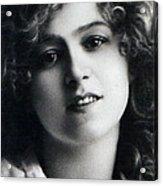 Portrait Of Gabriella Ray Acrylic Print