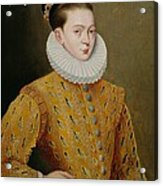Portrait Of James I Of England And James Vi Of Scotland  Acrylic Print