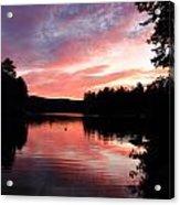 Portrait Of Lake Waukewan Acrylic Print