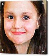 Portrait Of Lida Acrylic Print