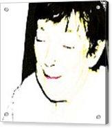 Portrait Of Tears 1 Acrylic Print