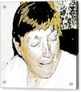 Portrait Of Tears 2 Acrylic Print