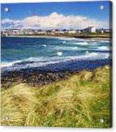 Portrush, Co Antrim, Ireland Seaside Acrylic Print