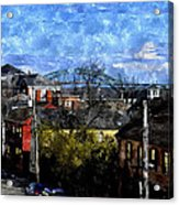 Portsmouth Nh North End Pnewc Acrylic Print