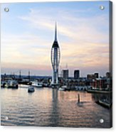 Portsmouth Waterfront Acrylic Print