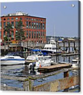 Portsmouth Waterfront Pwp Acrylic Print