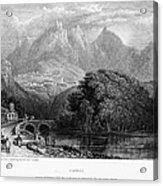 Portugal: Cintra, 1832 Acrylic Print